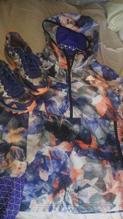 Adidas Windbreaker w/ Matching Shoes $75 Thumbnail