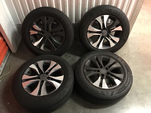 16 Inch Alloy Wheels Rims Oem Stock Factory Honda Accord 5x114 3 Lug 5 Also Fits Civic Cars For Sale In Long Beach Ca Offerup