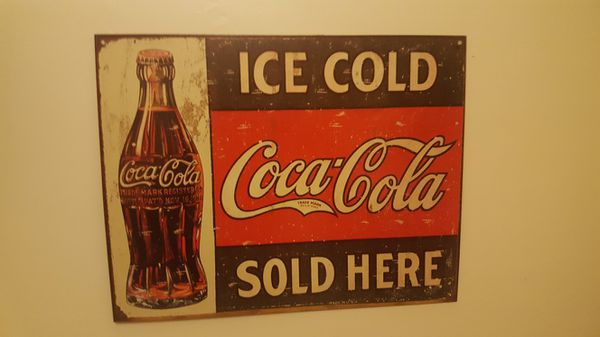 Coca-Cola wall art (Household) in Brookline, MA - OfferUp