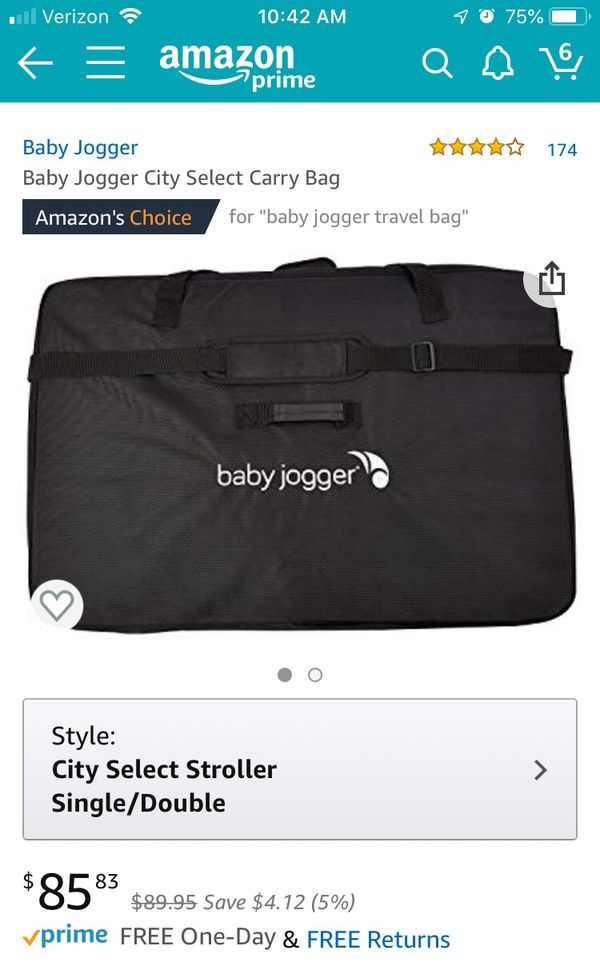 Baby Jogger City Select Travel Bag For Sale In Anaheim Ca Offerup