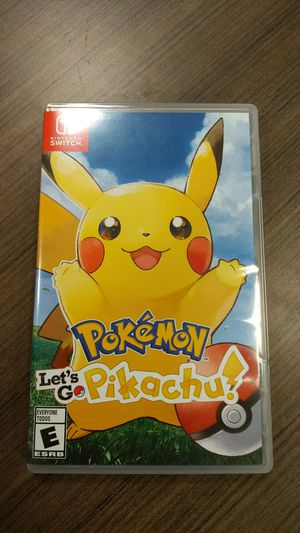 Pokemon Let's Go Pikachu! for Sale in Gahanna, OH