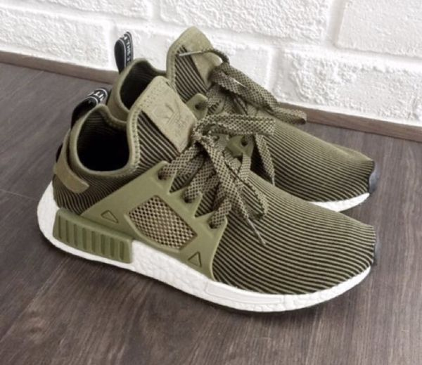 free shipping a6523 ce6be Adidas nmd xr1 Olive Green for Sale in Los Angeles, CA - OfferUp