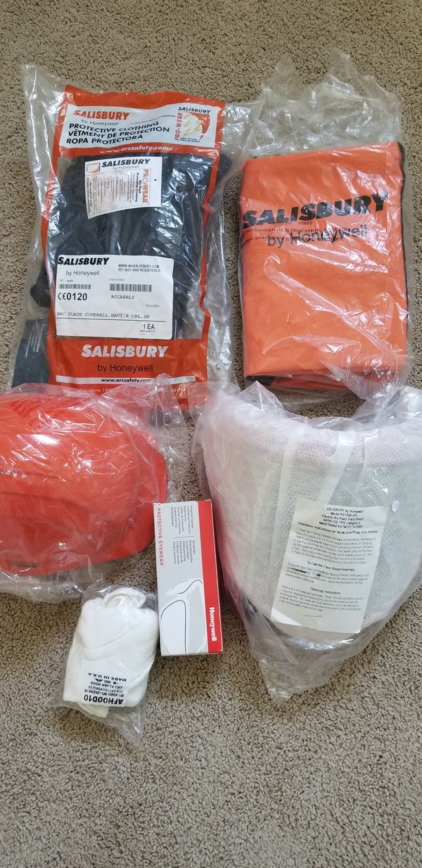 af7620a0973d SALISBURY.  Arc flash Protection Clothing Kit 2-HRC for Sale in Fort ...