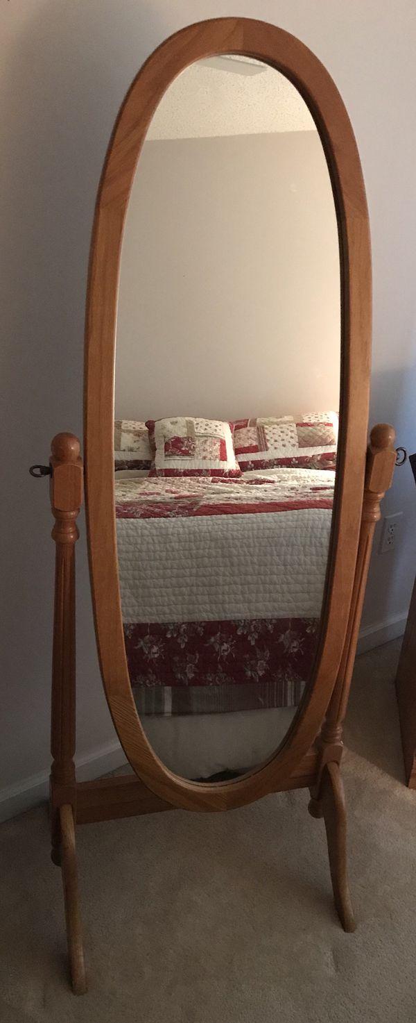 Adjustable floor mirror (Furniture) in Lancaster, NY - OfferUp