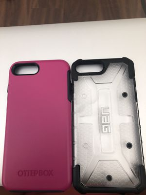 Otterbox and UAG IPHONE 8 Plus Phone Cases-$25 each or both for $40! for Sale in Salt Lake City, UT