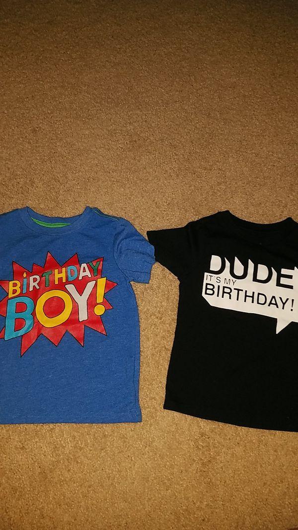 3t Birthday Boy Shirts Great Condition