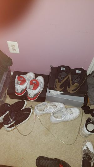 Jordan 3s 13s 9s for sell for Sale in Manassas Park, VA