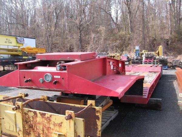 1989 witzco 50 ton lowbed trailer