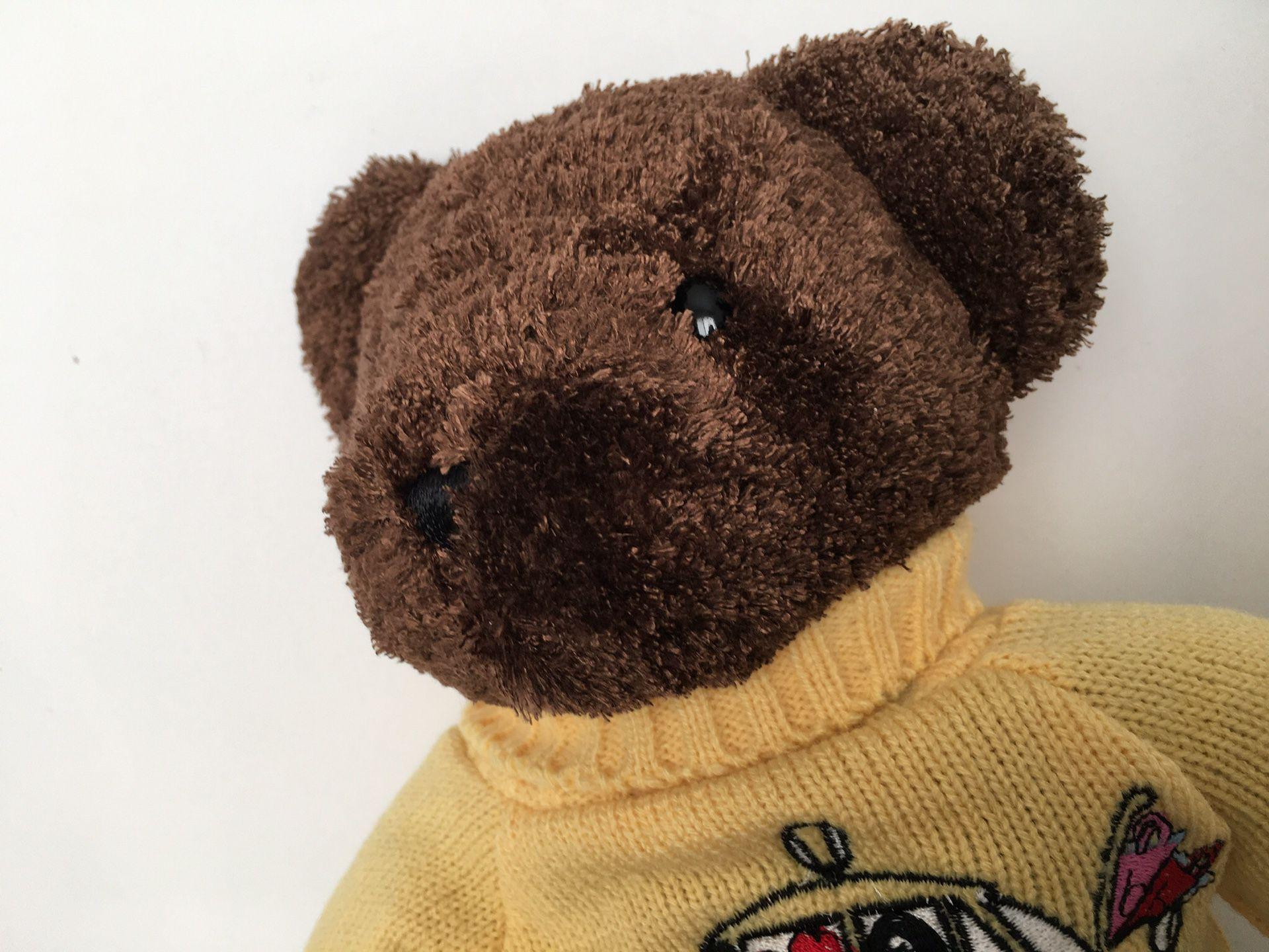"""RARE Bestever """"Bloomie's Please"""" Bloomingdales NYC Taxi Brown Teddy Bear"""
