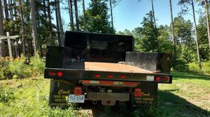 "Heavy duty steel utility body 9' 3 "" 8' wide great shape new paint call {contact info removed} for details for Sale in Appomattox, VA"