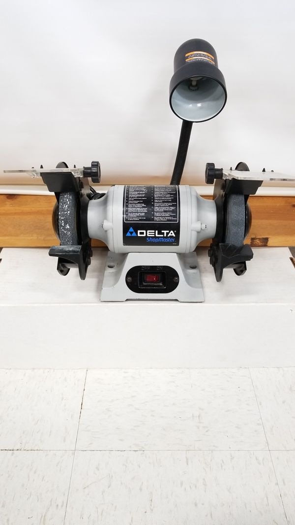 Delta Gr150 6 Bench Grinder With Lamp For Sale In Tacoma Wa Offerup