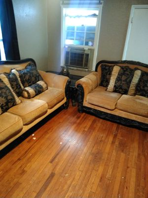 Fine New And Used Black Couch For Sale In Tulsa Ok Offerup Onthecornerstone Fun Painted Chair Ideas Images Onthecornerstoneorg