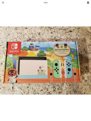 Photo Nintendo Switch Animal Crossing: New Horizon Special Edition IN HAND SHIPS FAST!