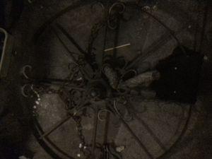 Wagon wheel chandelier for Sale in Denver, CO