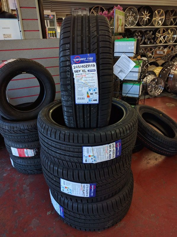 215/40/R18 - Set of Four New Tires