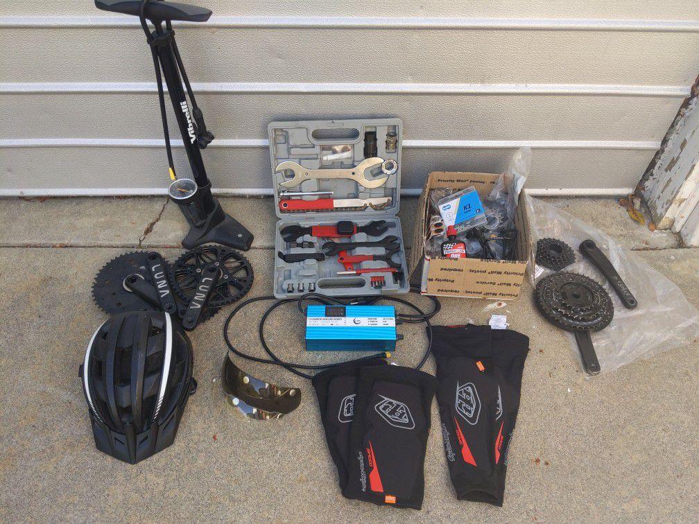 E-Bike City-Off Road 37mph top Speed. DIY 3000 Watt Mid Drive Motor