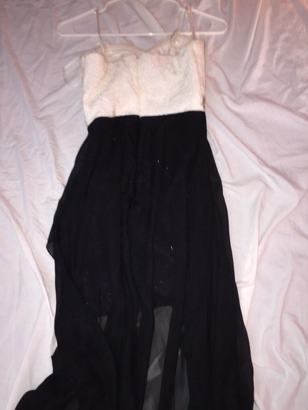 Dillard black and white prom/homecoming dress (Clothing & Shoes) in ...