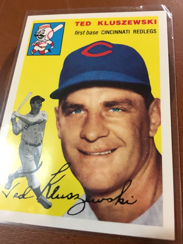 Ted Kluszewski Baseball Card 1954 Topps For Sale In Euless Tx Offerup