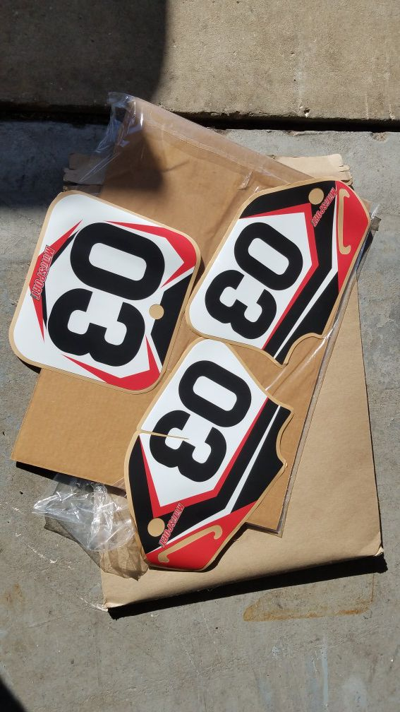 Honda Dirtbike Graphics For Sale In Tampa Fl Offerup