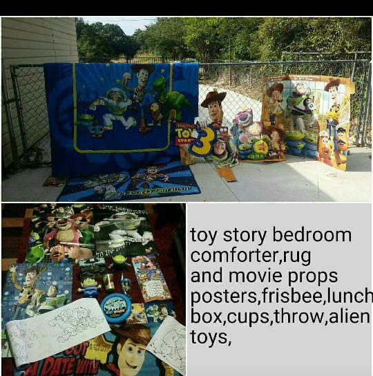 Toy story bedroom decorations for Sale in Dallas, TX - OfferUp
