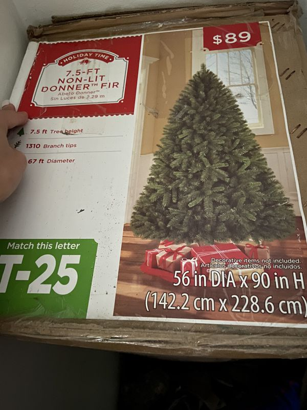 Christmas tree 79924 Beals st for Sale in El Paso, TX - OfferUp