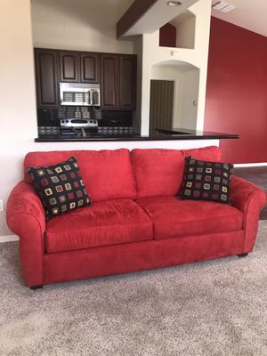 Incredible New And Used Red Couch For Sale In Queen Creek Az Offerup Pdpeps Interior Chair Design Pdpepsorg