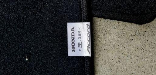 Honda Accord Floor Mats Thumbnail