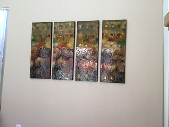 4 panel picture. Great over sofa, hallway or any big wall space. Thumbnail