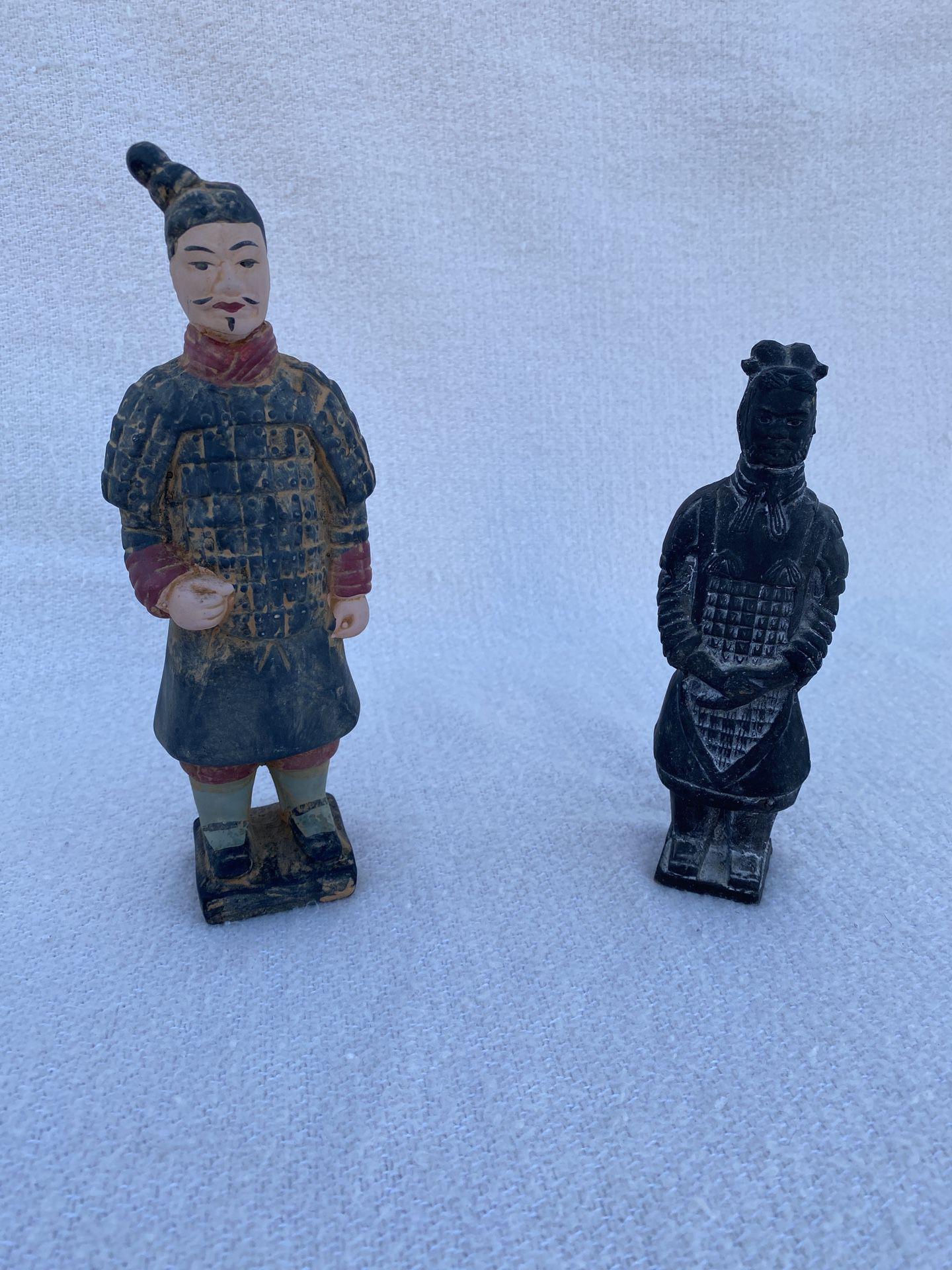 Miniature Terra Cotta Warriors