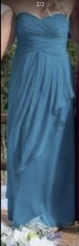 Teal bridesmaid dress for Sale in Scottsdale, AZ