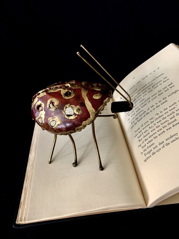 Lady Bug Metal Art Sculpture Brass Copper Critter Studio Piece  Ladybug   Arts and Crafts  for Sale in Miami, FL - OfferUp
