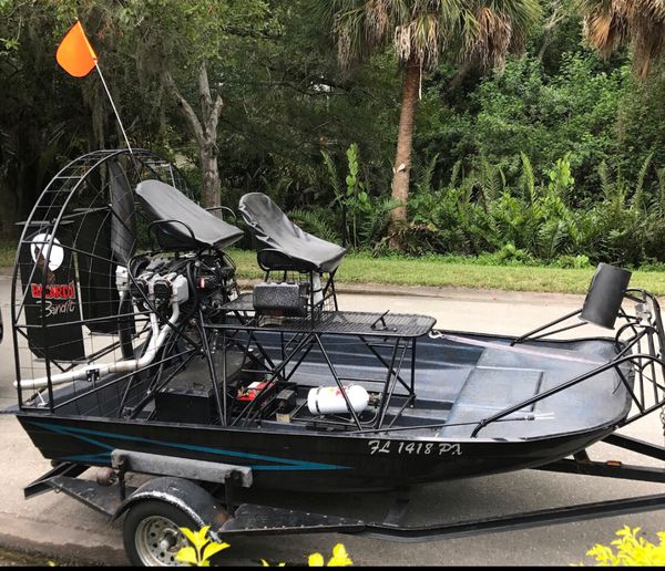 """2015 ricochet gore 11'6"""" jurnigan 180 lycoming airboat for Sale in  Sarasota, FL - OfferUp"""