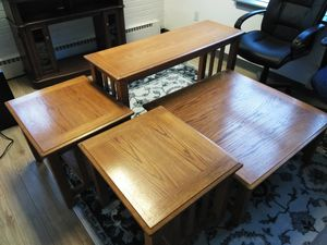 Coffee Table Set (4-PIECE) for Sale in Lakewood, WA