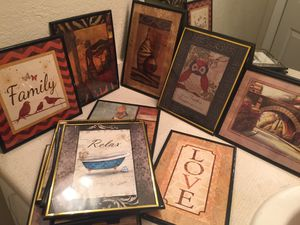 13 pcs Wall Arts for Sale in Manassas, VA