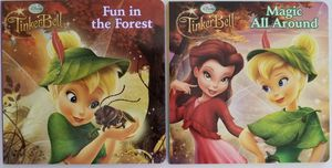 COLLECTIBLE-HTF DISNEY TINKERBELL BOARD BOOKS for Sale in Victorville, CA