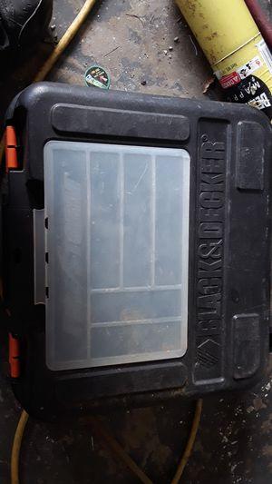 Black & decker drill case for Sale in Orange City, FL