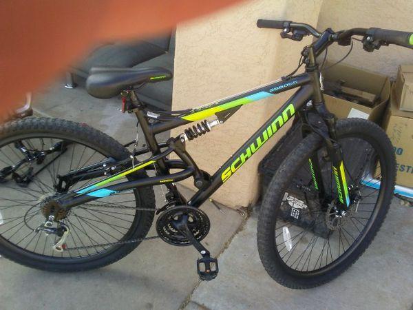 """29"""" Men's Schwinn Abbott Full Suspension Mountain Bike for ..."""