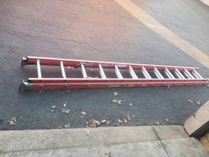 24ft fiberglass Werner ladder for Sale in Pasadena, MD