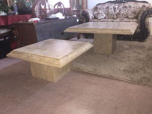 100% stone granite coffee and end table for Sale in Phoenix, AZ