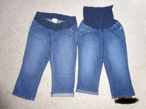 2 size Large Maternity Capri pants for Sale in Charles Town, WV