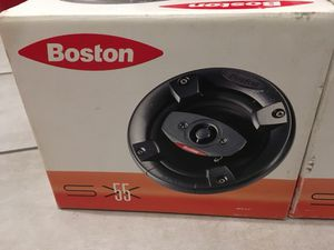 "Boston Acoustics SX55 5 1/4"" speakers for Sale in Santa Monica, CA"