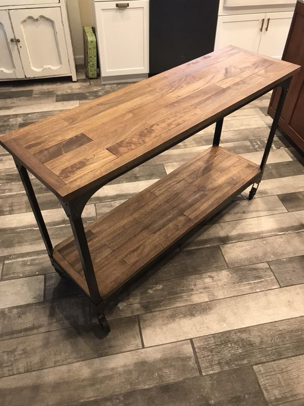 World Market Industrial Table For Sale In Gilbert AZ OfferUp - World market industrial table