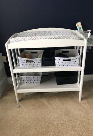 Crib and Changing Table New Mattress for Sale in North Bethesda, MD