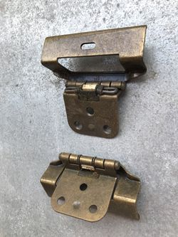 Cabinet hinges new . 190 pieces. Thumbnail