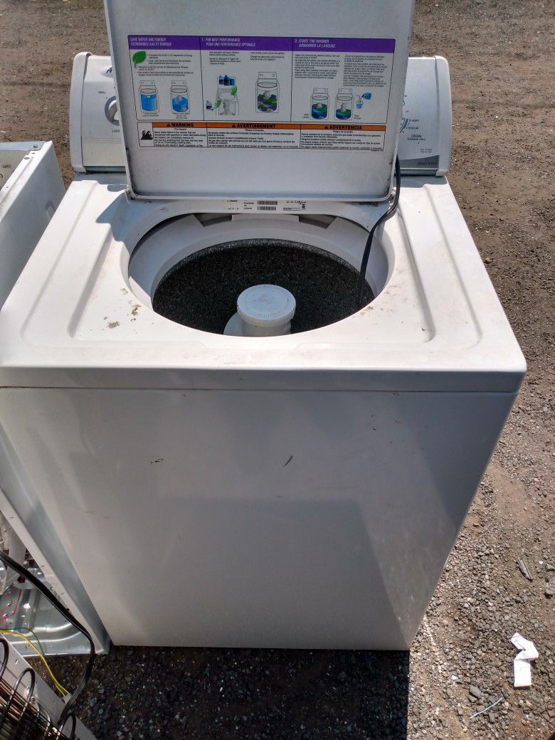 Whirlpool Clothes Washer Large Capacity Works Good Heavy Duty 6 Month Warranty Free Local Delivery I Fix And Sell Washers And Dryers