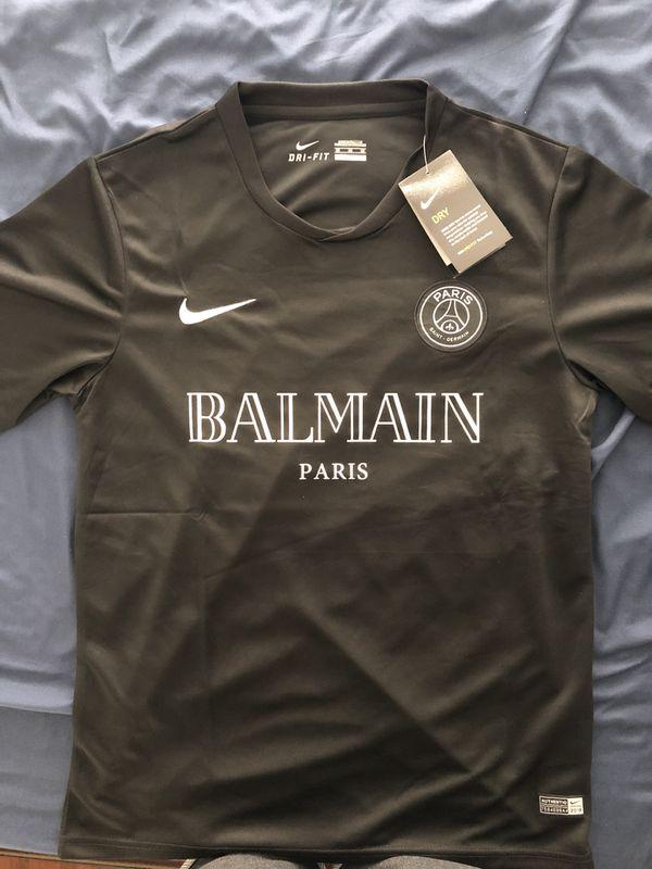 new style 57b49 6b996 Nike x Balmain Paris x PSG Custom Soccer Jersey for Sale in San Francisco,  CA - OfferUp