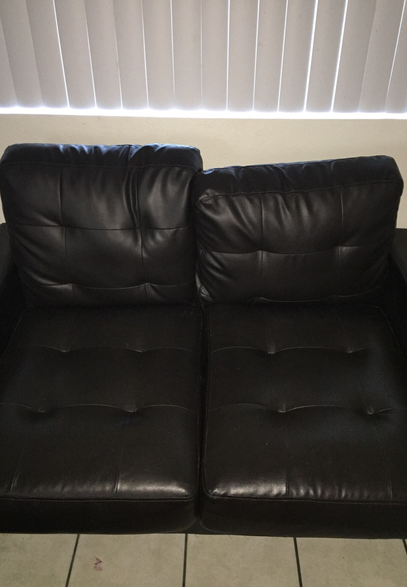 I have two loveseats Leather couches for sell