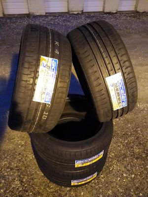 Photo 255/45/18 NEW LOW PROFILE PERFORMANCE ALL SEASON TIRES
