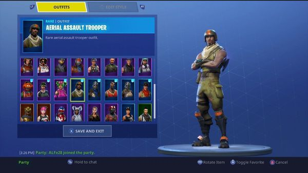 Rare Aerial Assault Trooper Fortnite Account For Sale In Henderson Nv Offerup