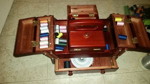 Sewing box with accessories for Sale in Ashburn, VA